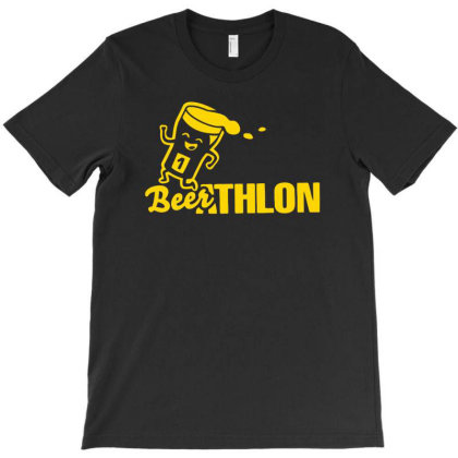Funny Beerathlon T-shirt Designed By Anma4547