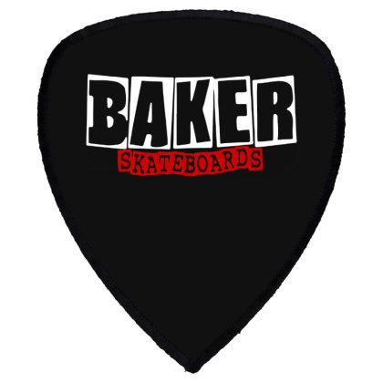 Baker Skateboards Shield S Patch Designed By Leona Art