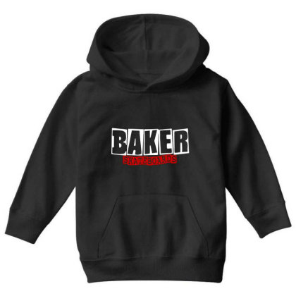 Baker Skateboards Youth Hoodie Designed By Leona Art