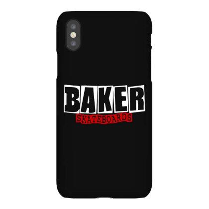 Baker Skateboards Iphonex Case Designed By Leona Art