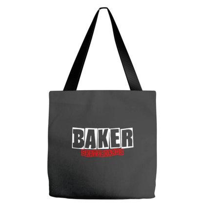 Baker Skateboards Tote Bags Designed By Leona Art