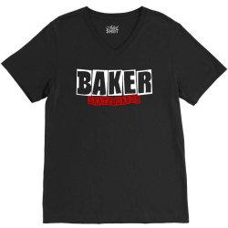 baker skateboards V-Neck Tee | Artistshot