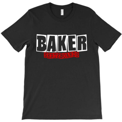 Baker Skateboards T-shirt Designed By Leona Art