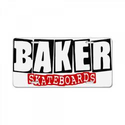 baker skateboards License Plate   Artistshot