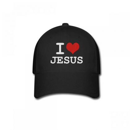 I Love Jesus Embroidery Embroidered Hat Baseball Cap