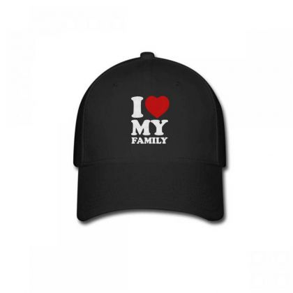 I Love My Family Embroidery Embroidered Hat Baseball Cap Designed By Madhatter