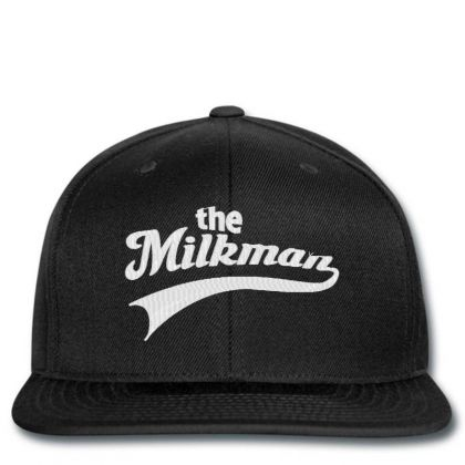 The Milk Man Embroidery Embroidered Hat Snapback Designed By Madhatter