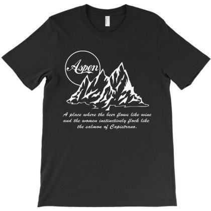 Aspen Wine T-shirt Designed By Kirana Tees