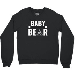 family bear pregnancy announcement baby white Crewneck Sweatshirt | Artistshot