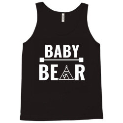 family bear pregnancy announcement baby white Tank Top | Artistshot