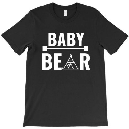 Family Bear Pregnancy Announcement Baby White T-shirt Designed By Perfect Designers