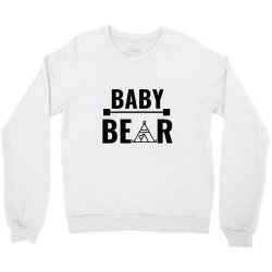 family bear pregnancy announcement baby Crewneck Sweatshirt   Artistshot