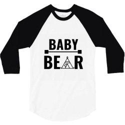 family bear pregnancy announcement baby 3/4 Sleeve Shirt | Artistshot