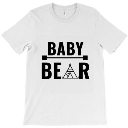 Family Bear Pregnancy Announcement Baby T-shirt Designed By Perfect Designers
