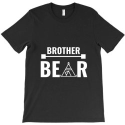 family bear pregnancy announcement brother white T-Shirt | Artistshot