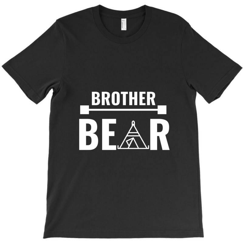 Family Bear Pregnancy Announcement Brother White T-shirt   Artistshot