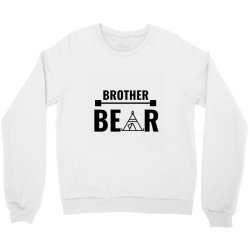 family bear pregnancy announcement brother Crewneck Sweatshirt | Artistshot