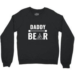family bear pregnancy announcement daddy white Crewneck Sweatshirt   Artistshot