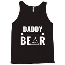 family bear pregnancy announcement daddy white Tank Top   Artistshot