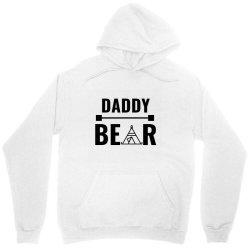 family bear pregnancy announcement daddy Unisex Hoodie | Artistshot