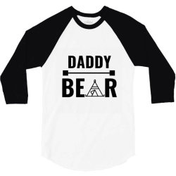 family bear pregnancy announcement daddy 3/4 Sleeve Shirt | Artistshot