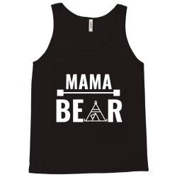 family bear pregnancy announcement mama white Tank Top | Artistshot