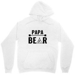 family bear pregnancy announcement papa Unisex Hoodie   Artistshot