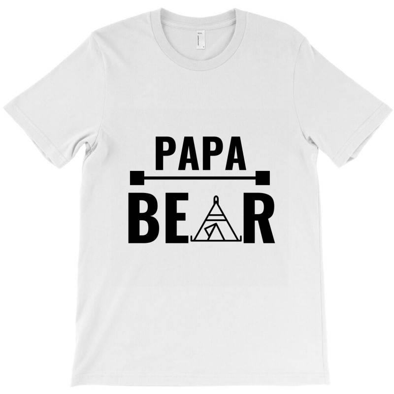 Family Bear Pregnancy Announcement Papa T-shirt   Artistshot
