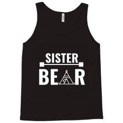 family bear pregnancy announcement sister white Tank Top | Artistshot