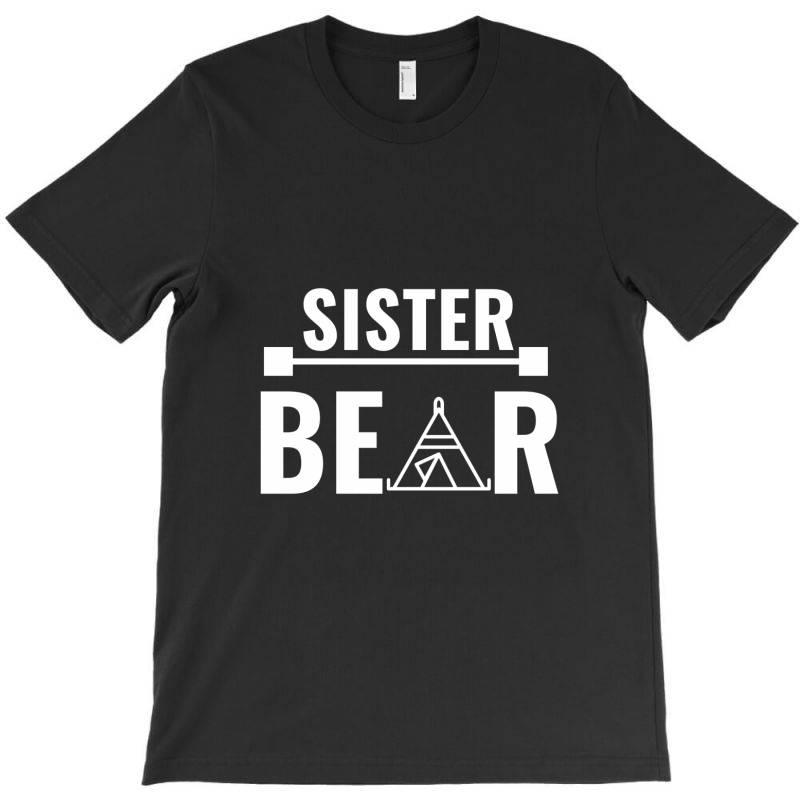 Family Bear Pregnancy Announcement Sister White T-shirt | Artistshot