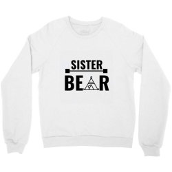 family bear pregnancy announcement sister Crewneck Sweatshirt   Artistshot