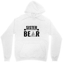 family bear pregnancy announcement sister Unisex Hoodie   Artistshot