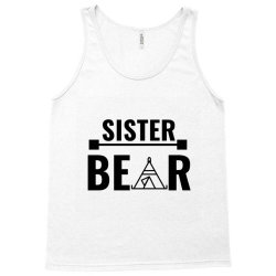 family bear pregnancy announcement sister Tank Top   Artistshot