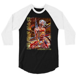 iron maiden somewhere in time screen new 3/4 Sleeve Shirt | Artistshot