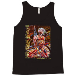 iron maiden somewhere in time screen new Tank Top | Artistshot