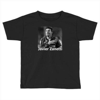 Javier Zanetti Toddler T-shirt Designed By G3ry