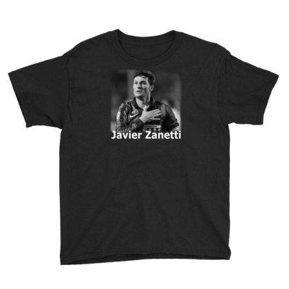 Javier Zanetti Youth Tee Designed By G3ry