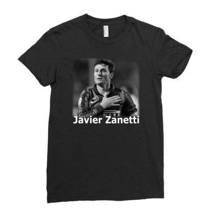 Javier Zanetti Ladies Fitted T-shirt Designed By G3ry