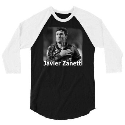 Javier Zanetti 3/4 Sleeve Shirt Designed By G3ry