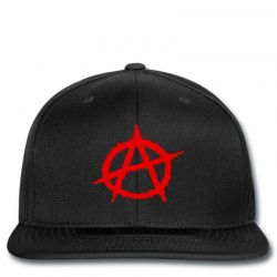Anarchy Embroidery Embroidered Hat Snapback | Artistshot