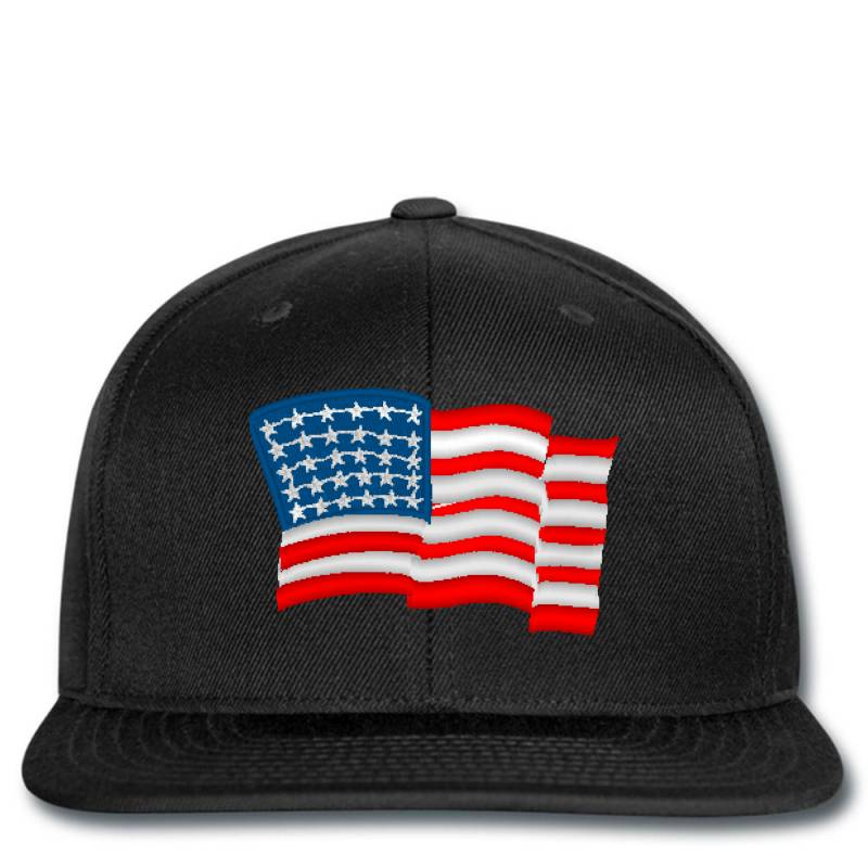 American Flag Usa Embroidery Embroidered Hat Snapback | Artistshot