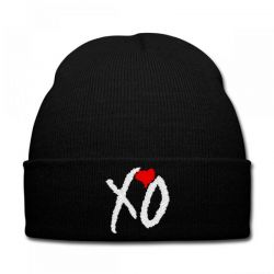 Xo Weekend Embroidery Embroidered Hat Knit Cap | Artistshot