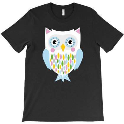 Owl Artful T-shirt Designed By Anma4547