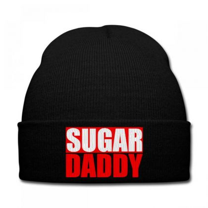 Sugar Daddy Embroidered Hat Knit Cap Designed By Madhatter