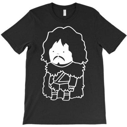 Jon Snow Game Of Thrones T-shirt Designed By G3ry