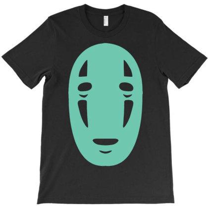 Kaonashi Mask Spirited Away T-shirt Designed By G3ry