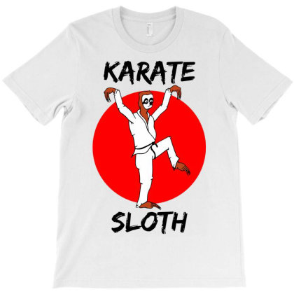 Karate Sloth T-shirt Designed By G3ry