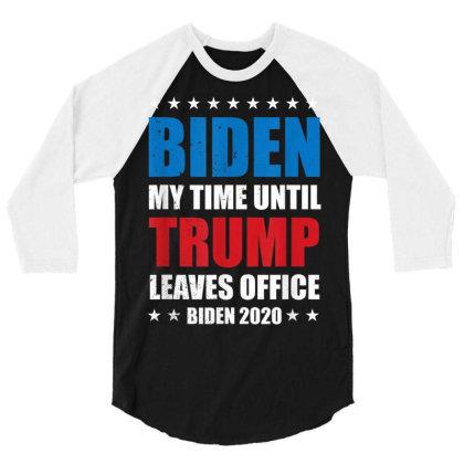 Anti Trump Red White Blue 3/4 Sleeve Shirt Designed By Kakashop