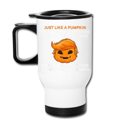 Anti Trump Toss Out In Early November Travel Mug Designed By Kakashop
