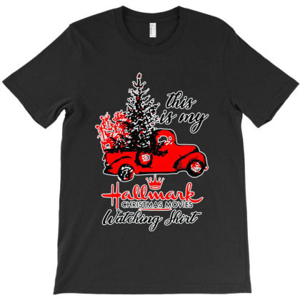 This Is My Hallmark Christmas Movie Watching T-shirt Designed By Blees Store